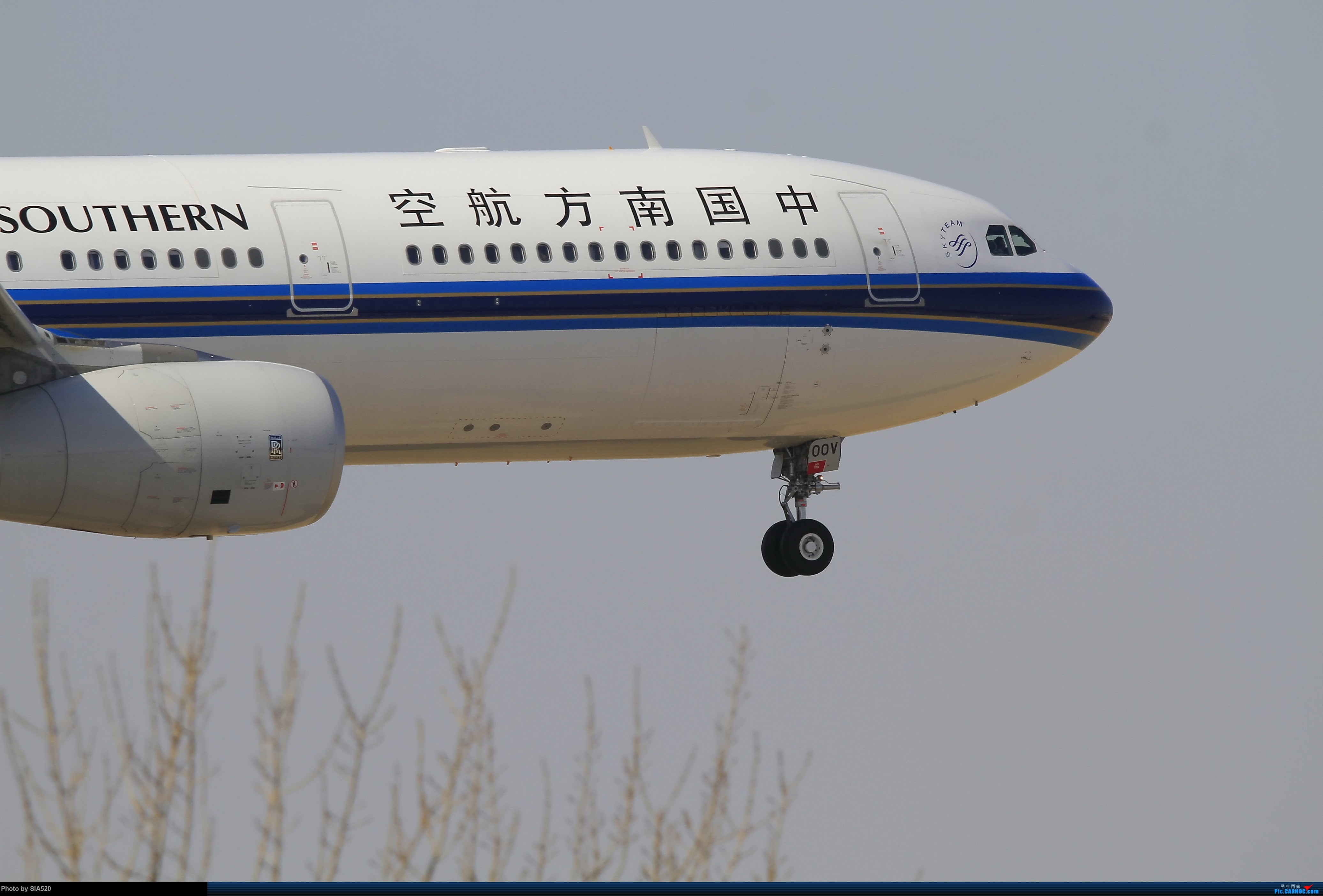 Re:[原创]近日杂图—pek 36R AIRBUS A330-300 B-300V 中国北京首都国际机场