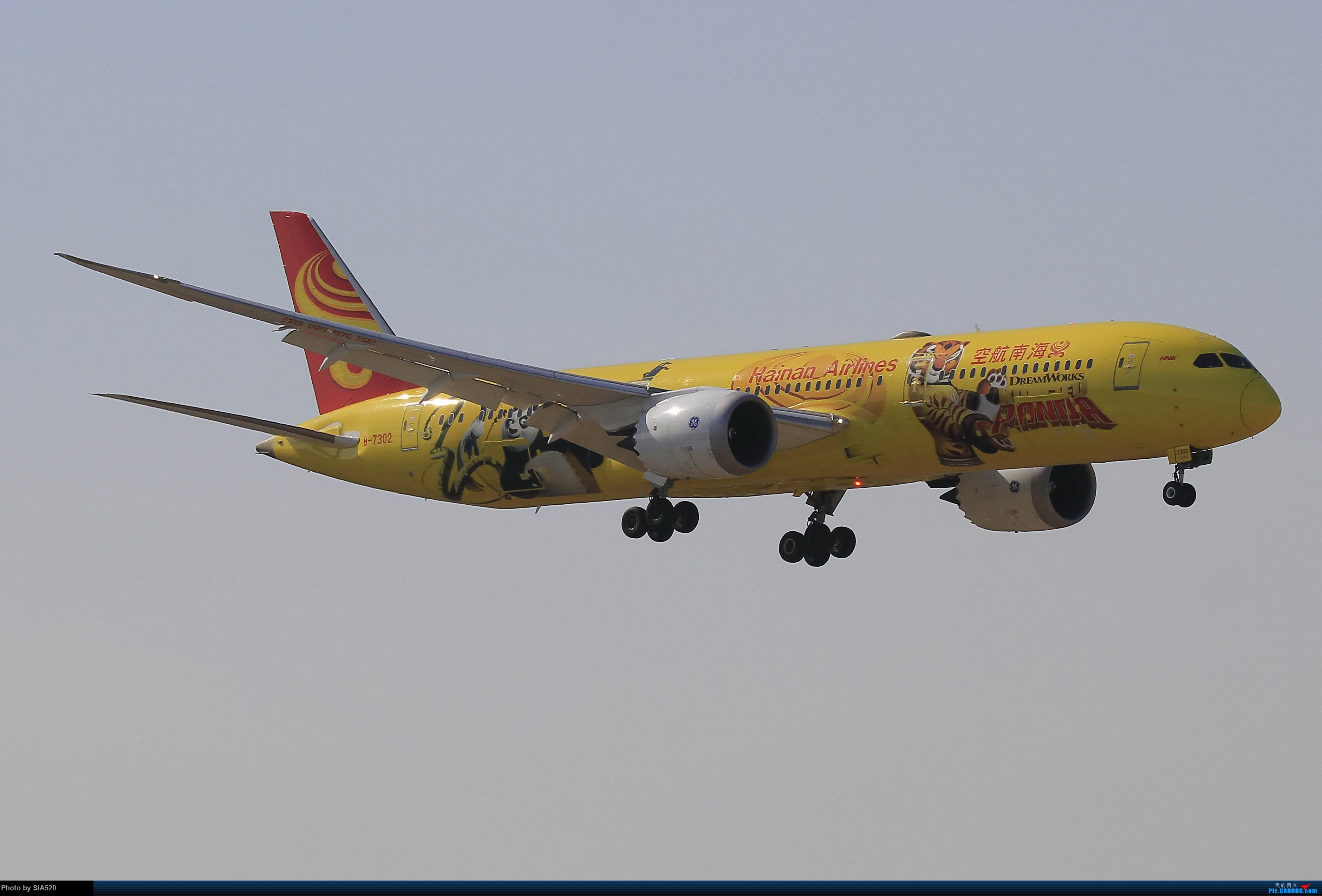 Re:[原创]近日杂图—pek 36R BOEING 787-9 B-7302 中国北京首都国际机场