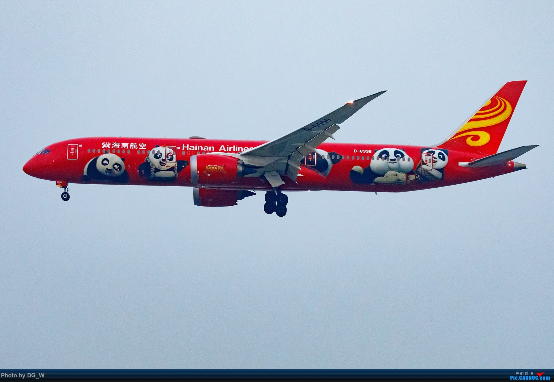 Re:[原创]【南宁飞友】一张8元机票带来的帝都之旅 BOEING 787-9 B-6998 中国北京首都国际机场