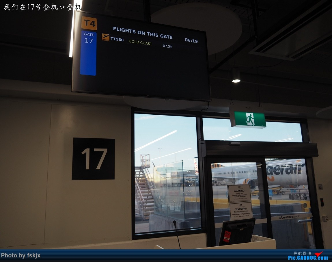 【fskjx的飞行游记☆68】在土澳的9天——黄金海岸·布里斯班·悉尼 BOEING 737-800  澳大利亚墨尔本机场 澳大利亚墨尔本机场
