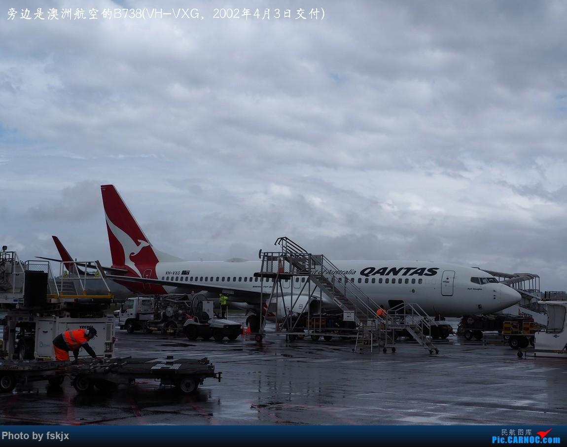 【fskjx的飞行游记☆68】在土澳的9天——黄金海岸·布里斯班·悉尼 BOEING 737-800 VH-VXG 澳大利亚黄金海岸机场