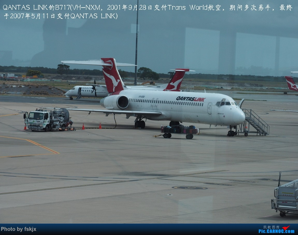【fskjx的飞行游记☆68】在土澳的9天——黄金海岸·布里斯班·悉尼 BOEING 717 VH-NXM 澳大利亚布里斯班机场