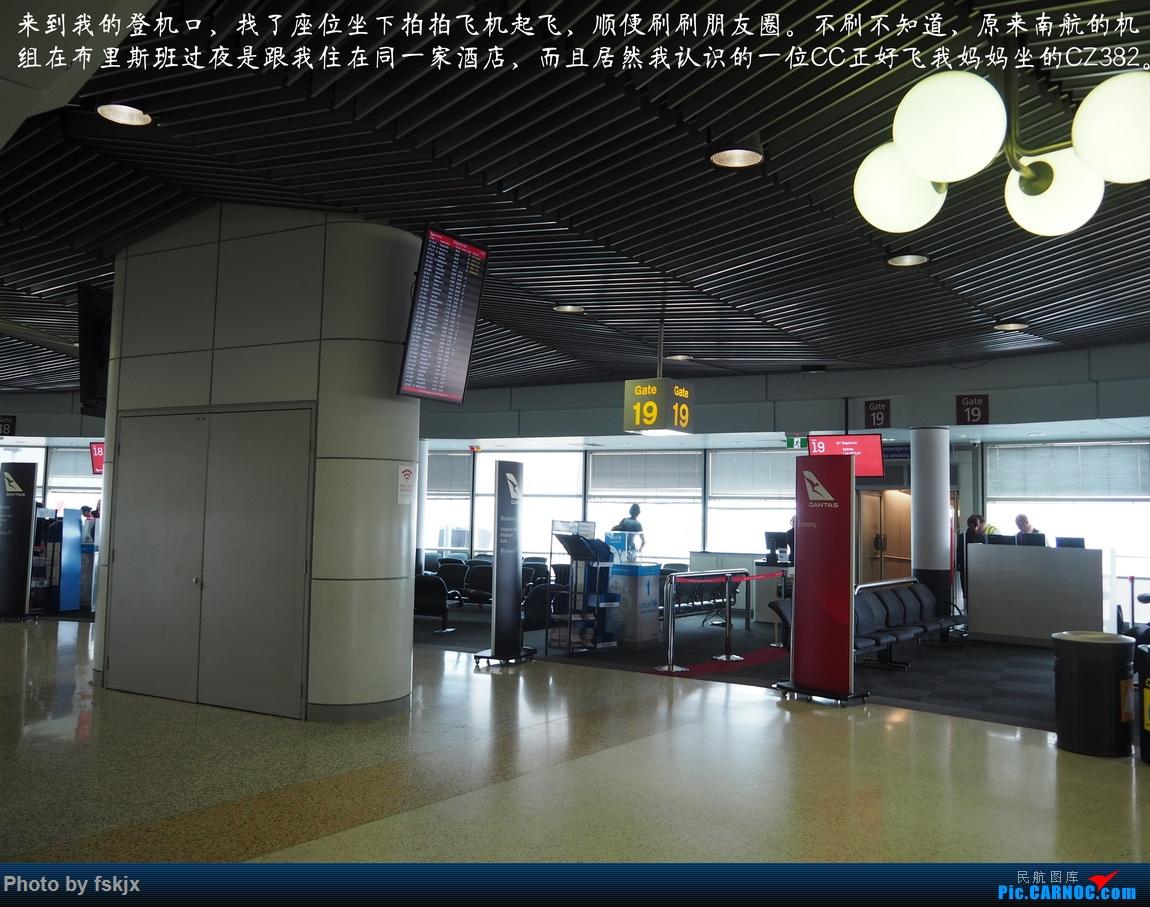 【fskjx的飞行游记☆68】在土澳的9天——黄金海岸·布里斯班·悉尼 BOEING 737-800 VH-VYD 澳大利亚布里斯班机场