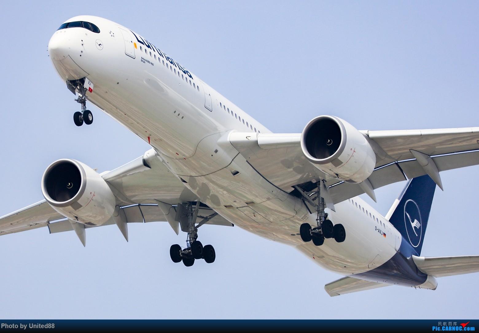 Re:[原创]ZBAA RWY1-9 洛杉矶视角 AIRBUS A350-900 D-AIXJ 中国北京首都国际机场