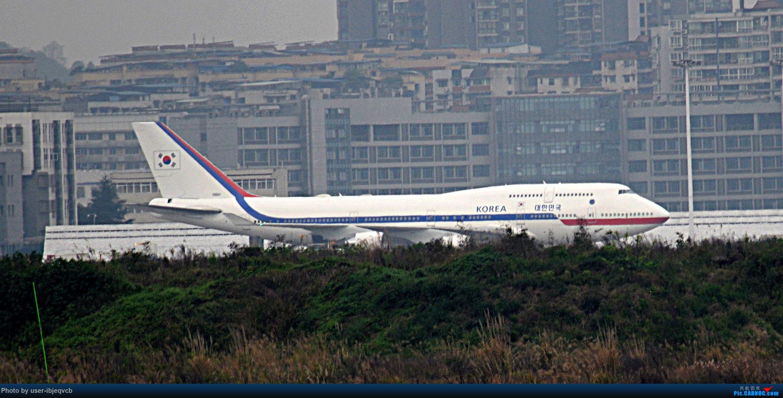 [原创]重庆江北的747很少,这架更特别,哪位大神能说一说    中国重庆江北国际机场