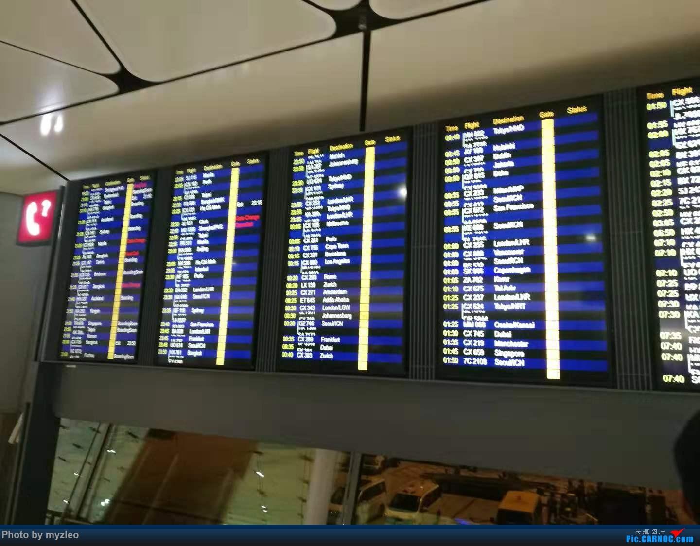 Re:[原创]【myzleo的游记4.1】十年之约(1)不完整的去程——HX239,HNA初体验,与心爱的359失之交臂;港岛+九龙    中国香港国际机场