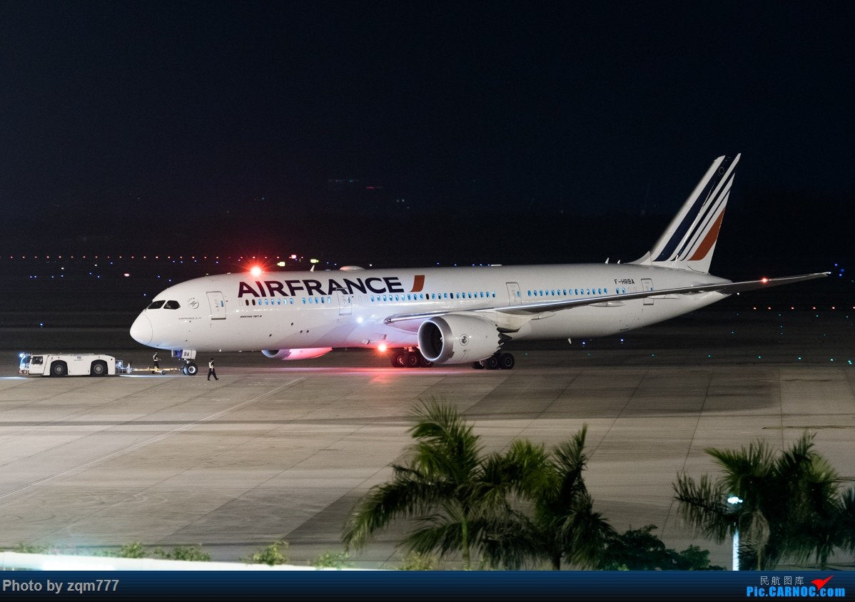 Re:[原创]法国航空广州航线AF102/107末班飞行 BOEING787-9 F-HRBA 广州白云国际机场