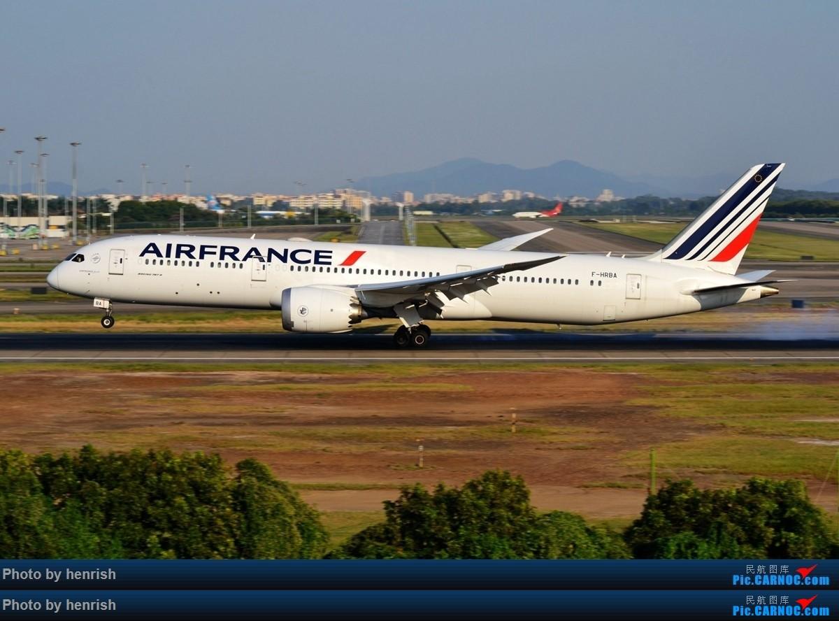 Re:[原创]法国航空广州航线AF102/107末班飞行 BOEING 787-9 F-HRBA 中国广州白云国际机场