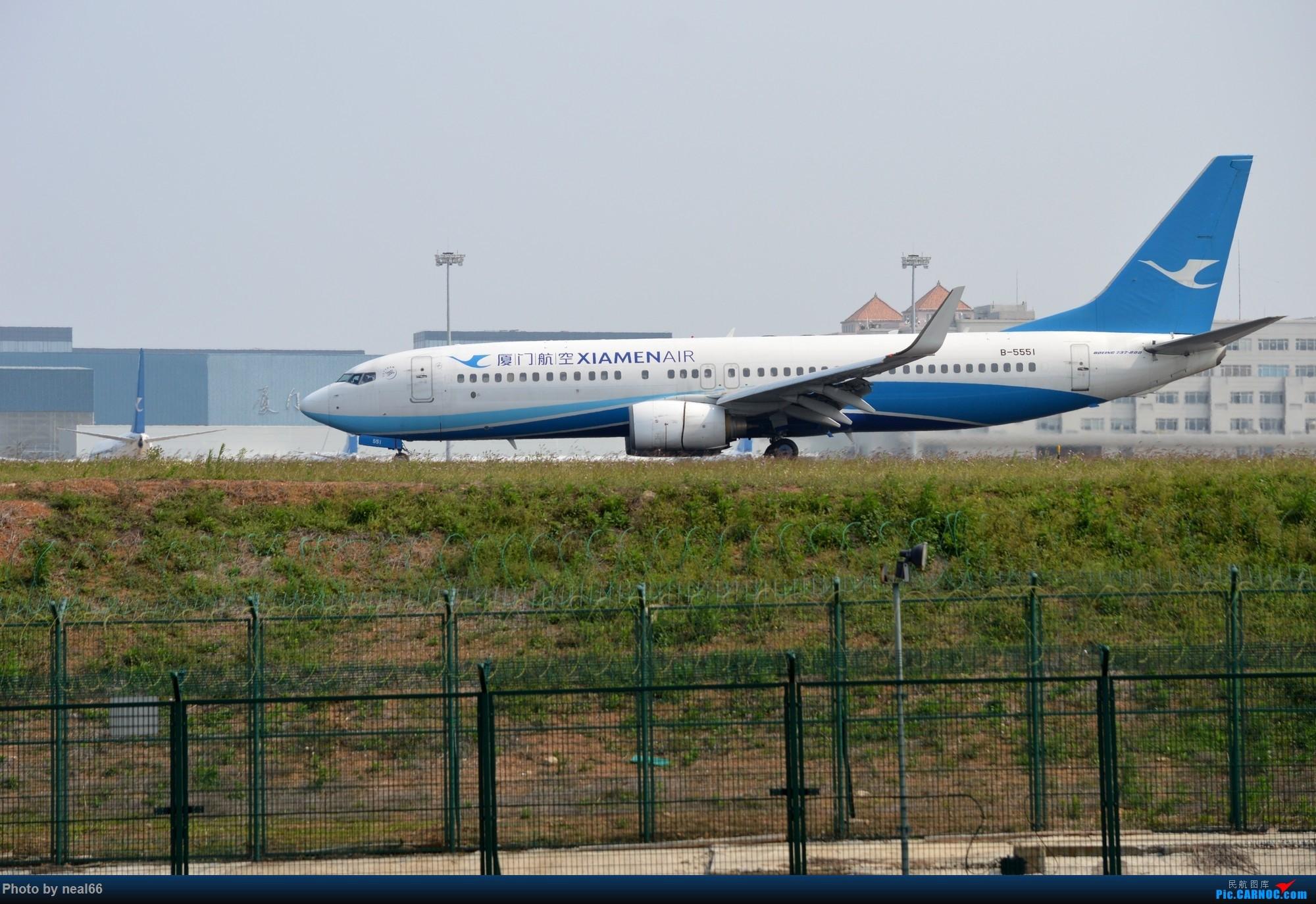 Re:[原创]厦门机场19年3月最后一天 BOEING 737-800 B-5551 中国厦门高崎国际机场