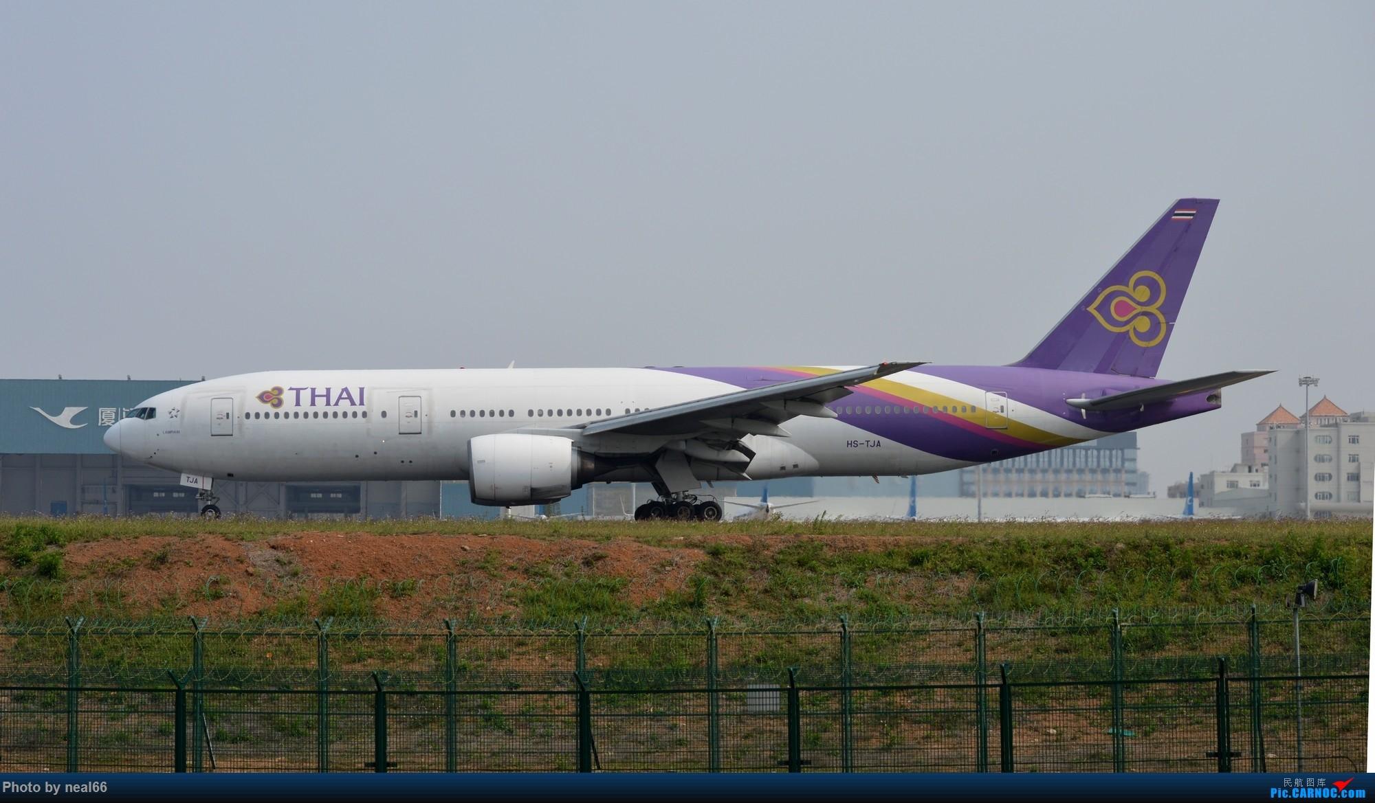 Re:[原创]厦门机场19年3月最后一天 777-200 HS-TJA 中国厦门高崎国际机场