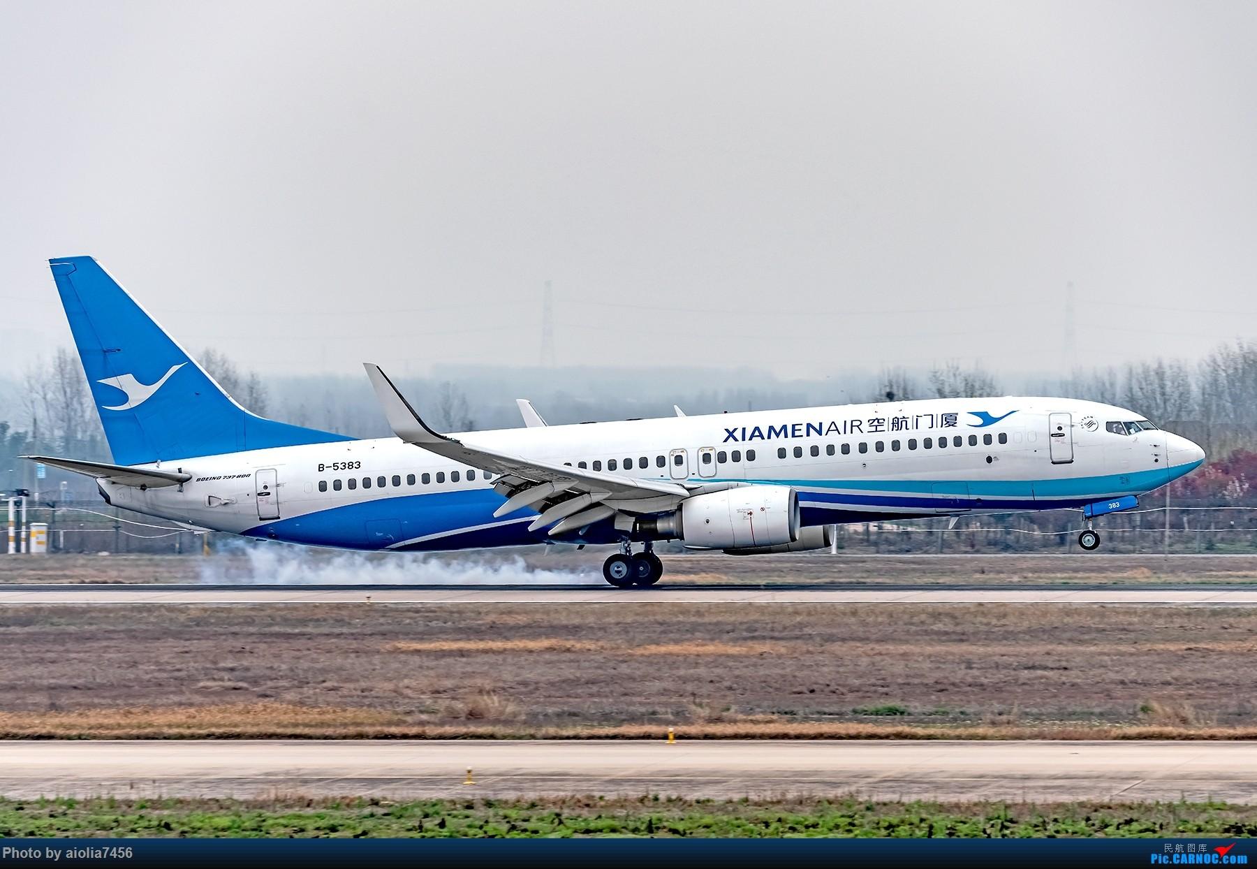 Re:[原创]{霸都打机队}儿子说,合肥为什么没有大飞机?(手动尴尬) BOEING 737-800 B-5383 中国合肥新桥国际机场