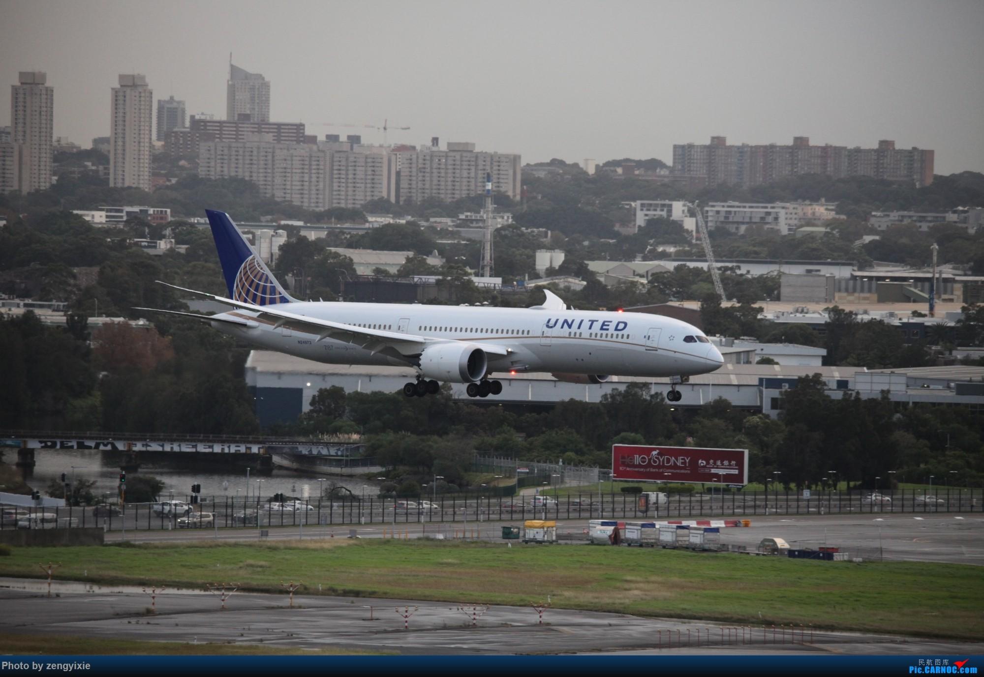 Re:[原创]清晨的悉尼国际降落狂潮 BOEING 787 N24973 澳大利亚悉尼金斯福德·史密斯机场