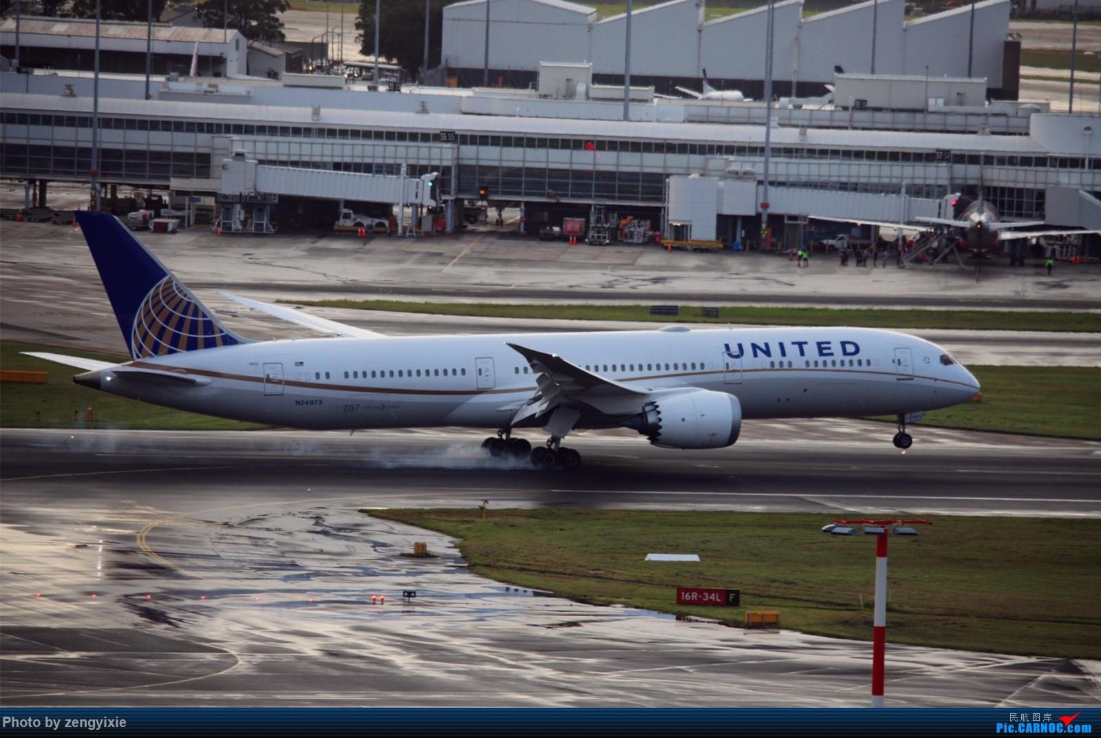 Re:[原创]清晨的悉尼国际降落狂潮 BOEING 787 N24973 泰国曼谷素万那普国际机场