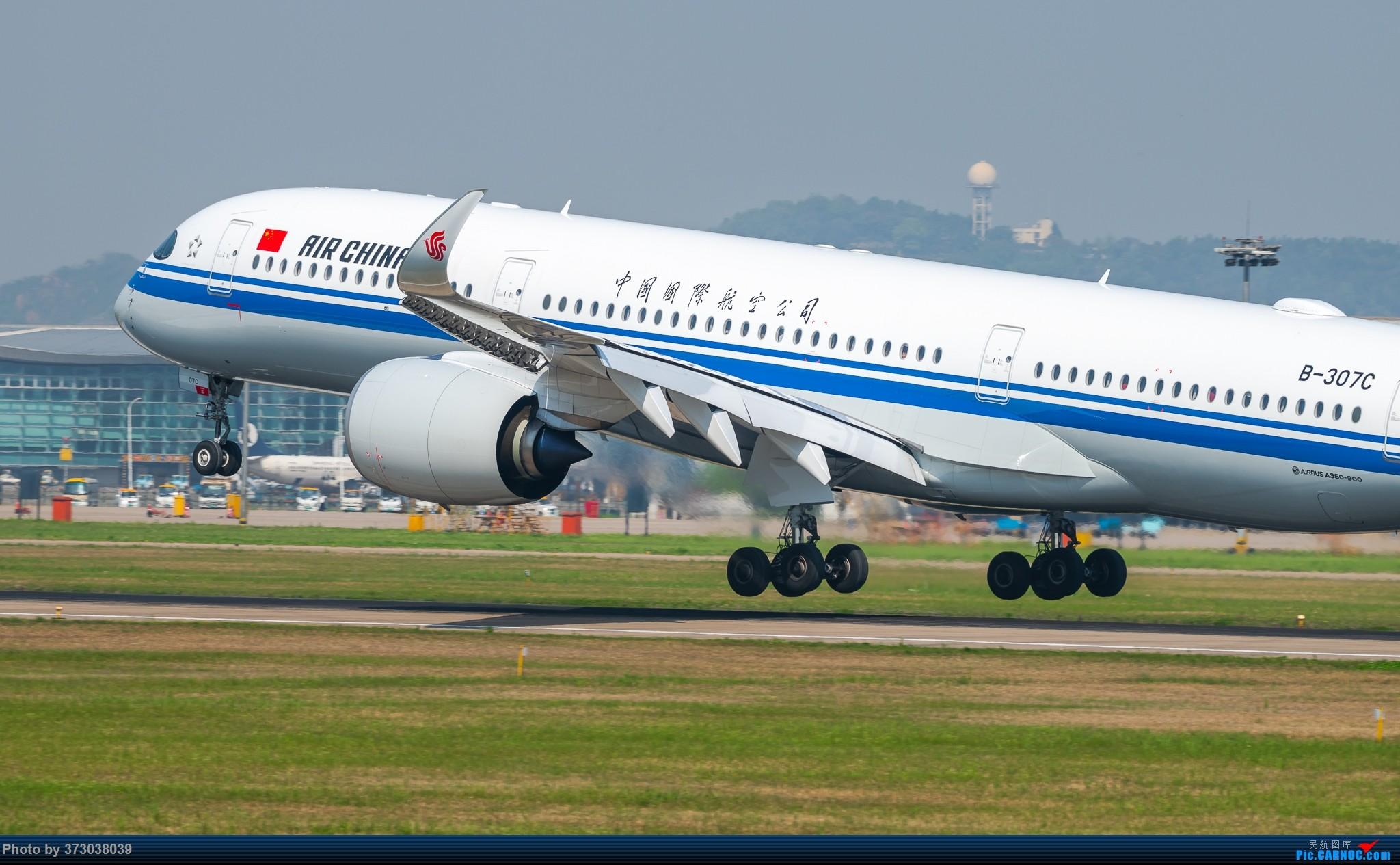 Re:空客A350 落地杭州萧山国际机场,超清跟拍 AIRBUS A350-900 B-307C 中国杭州萧山国际机场