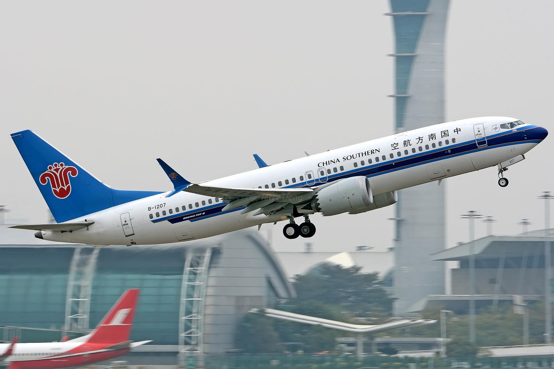 Re:【二图党】俩MAX BOEING 737MAX-8 B-1207 中国广州白云国际机场