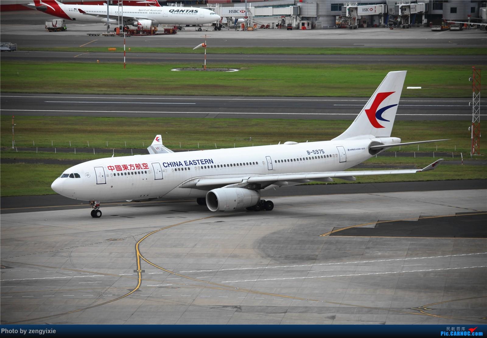 Re:[原创]清晨的悉尼国际降落狂潮 AIRBUS A330-200 B-5975 澳大利亚悉尼金斯福德·史密斯机场