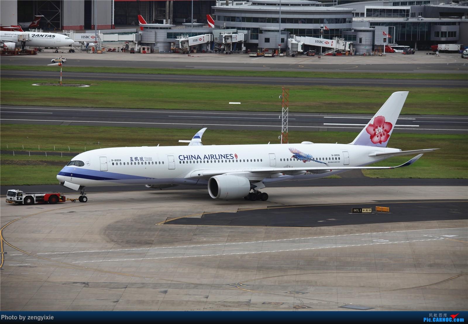 Re:[原创]清晨的悉尼国际降落狂潮 AIRBUS A350-900 B-18908 澳大利亚悉尼金斯福德·史密斯机场