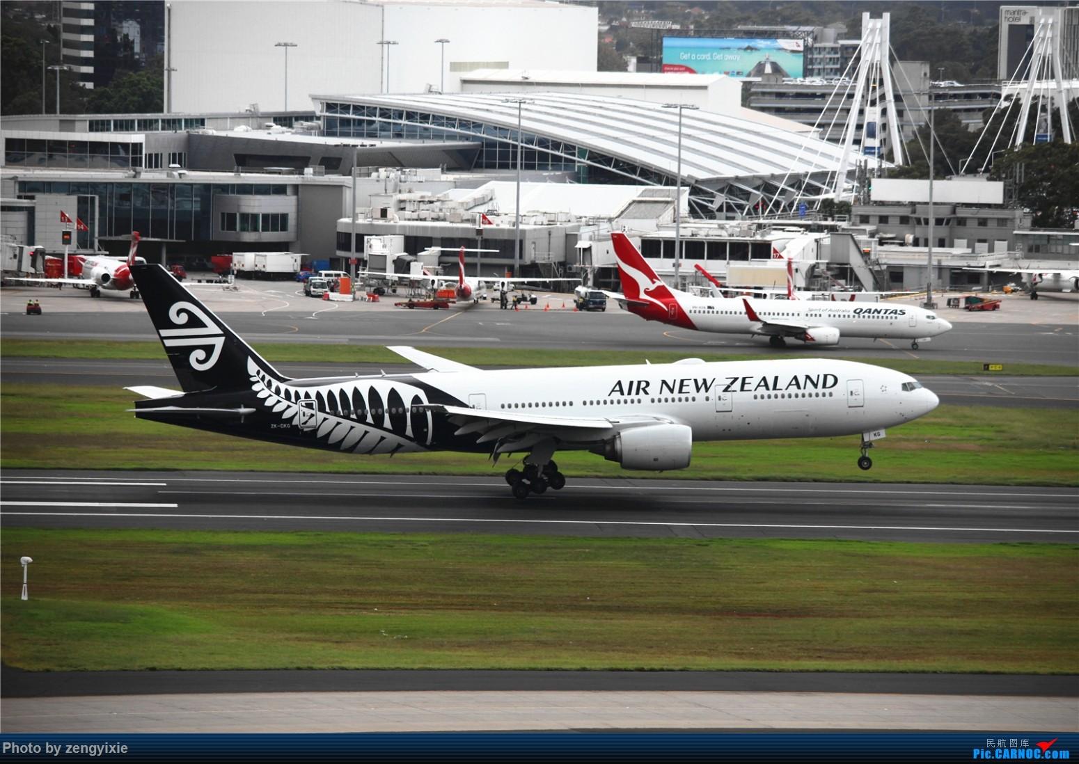 Re:[原创]清晨的悉尼国际降落狂潮 BOEING 777 ZK-OKG 澳大利亚悉尼金斯福德·史密斯机场