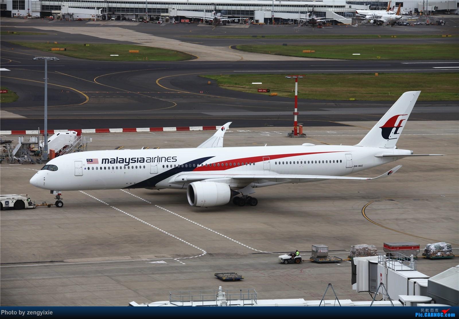Re:[原创]清晨的悉尼国际降落狂潮 AIRBUS A350-900 9M-MAE 澳大利亚悉尼金斯福德·史密斯机场