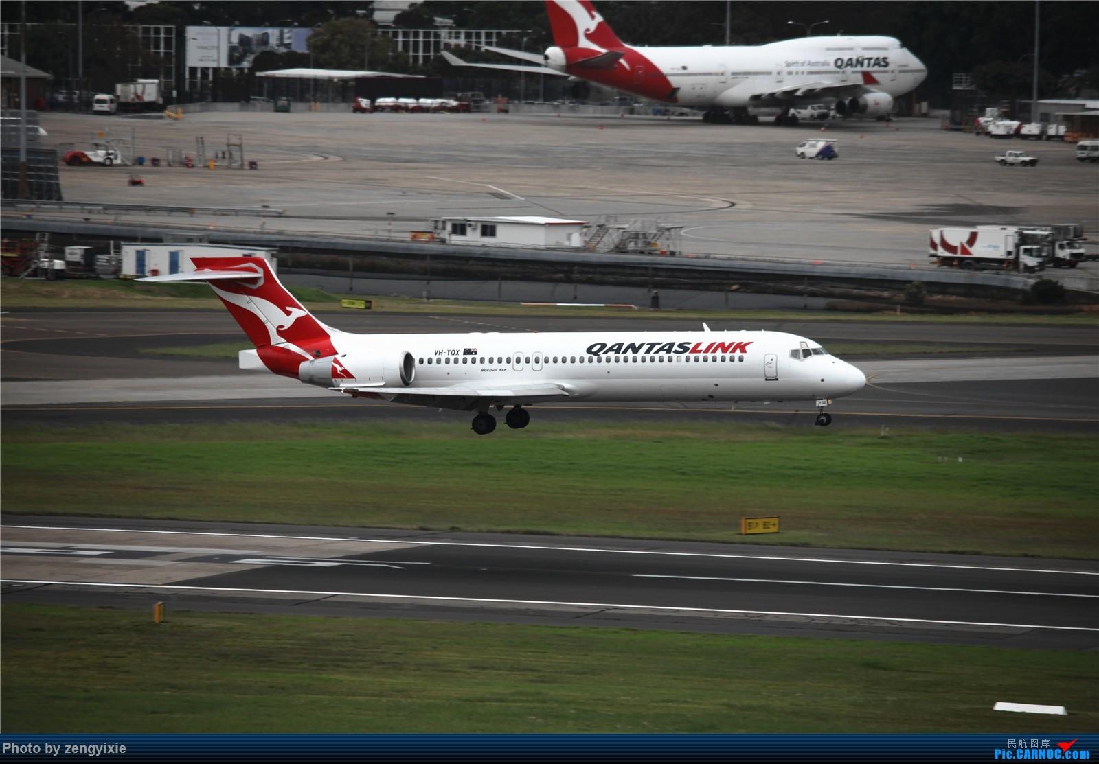 Re:[原创]清晨的悉尼国际降落狂潮 BOEING 717 VH-YQX 澳大利亚悉尼金斯福德·史密斯机场