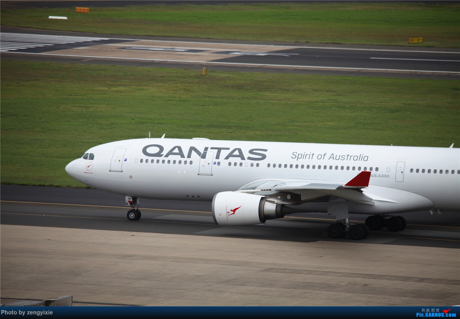 Re:[原创]清晨的悉尼国际降落狂潮 AIRBUS A330 VH-EBP 澳大利亚悉尼金斯福德·史密斯机场