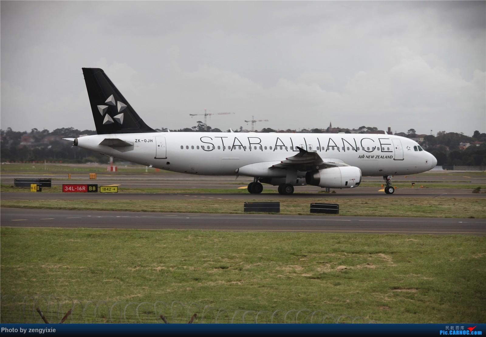 Re:[原创]清晨的悉尼国际降落狂潮 AIRBUS A320 ZK-OJH 澳大利亚悉尼金斯福德·史密斯机场