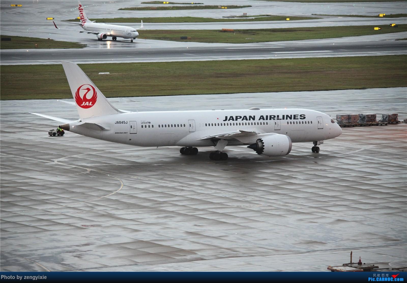Re:[原创]清晨的悉尼国际降落狂潮 BOEING 787 JA845J 澳大利亚悉尼金斯福德·史密斯机场