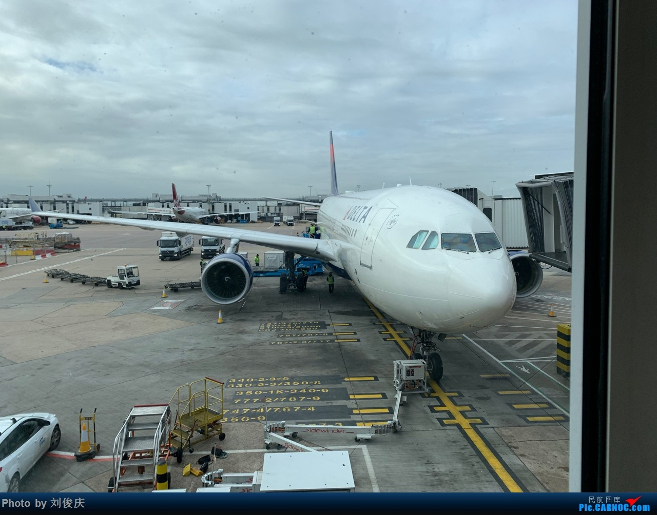 Re:[原创]SEA-JFK-LHR-CDG-FCO-CDG-LHR-ATL-SEA 8天3国5城暴走游记 [更新至JFK] AIRBUS 330-200  LHR T3