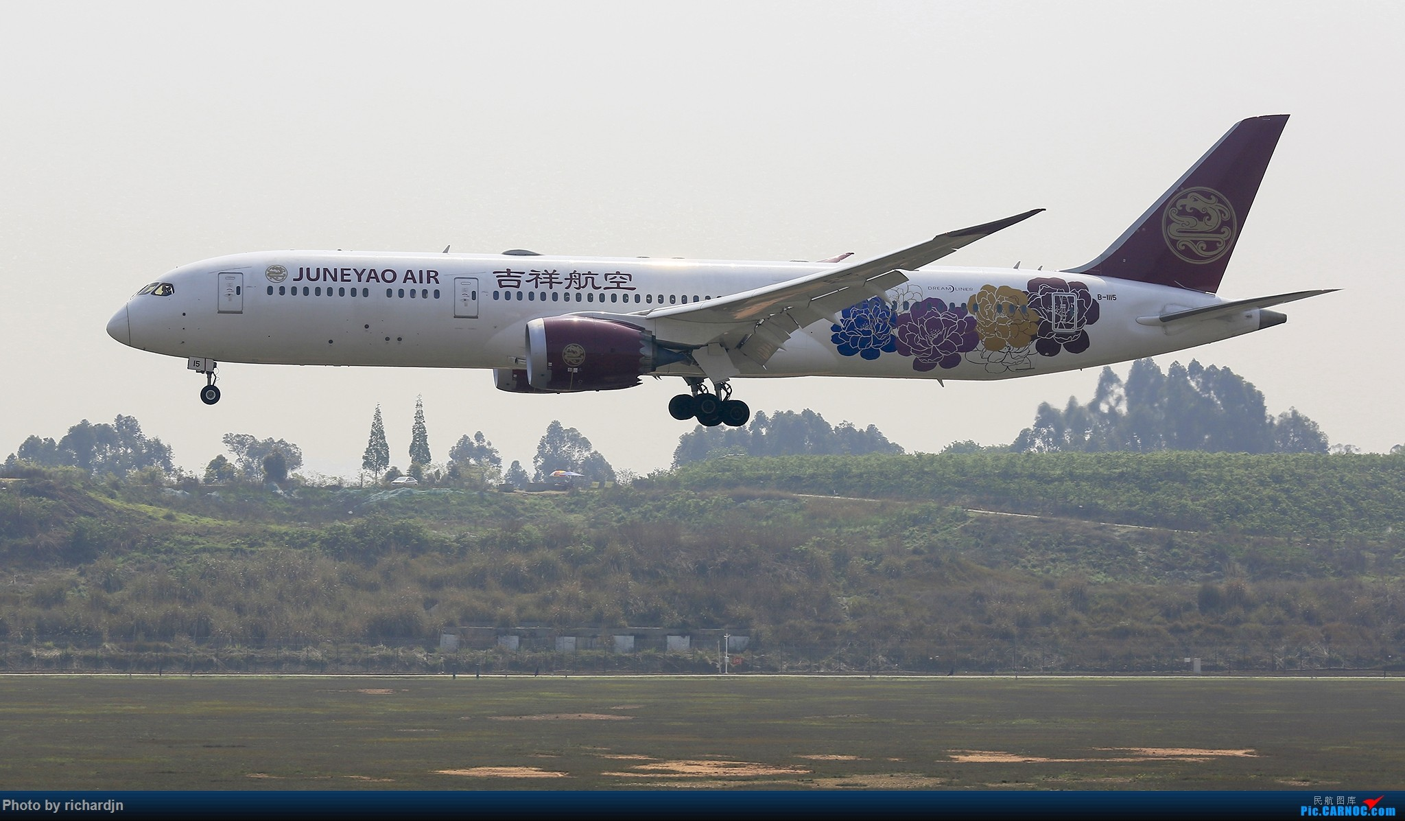 Re:[原创]清明节ZUUU喜撸宽体~ BOEING 787-9 B-1115 中国成都双流国际机场