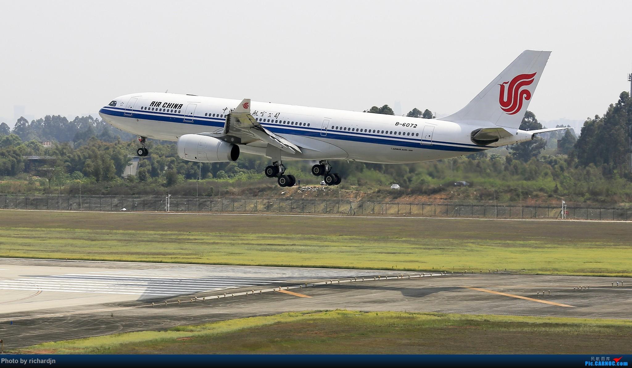 Re:[原创]清明节ZUUU喜撸宽体~ AIRBUS A330-200 B-6072 中国成都双流国际机场