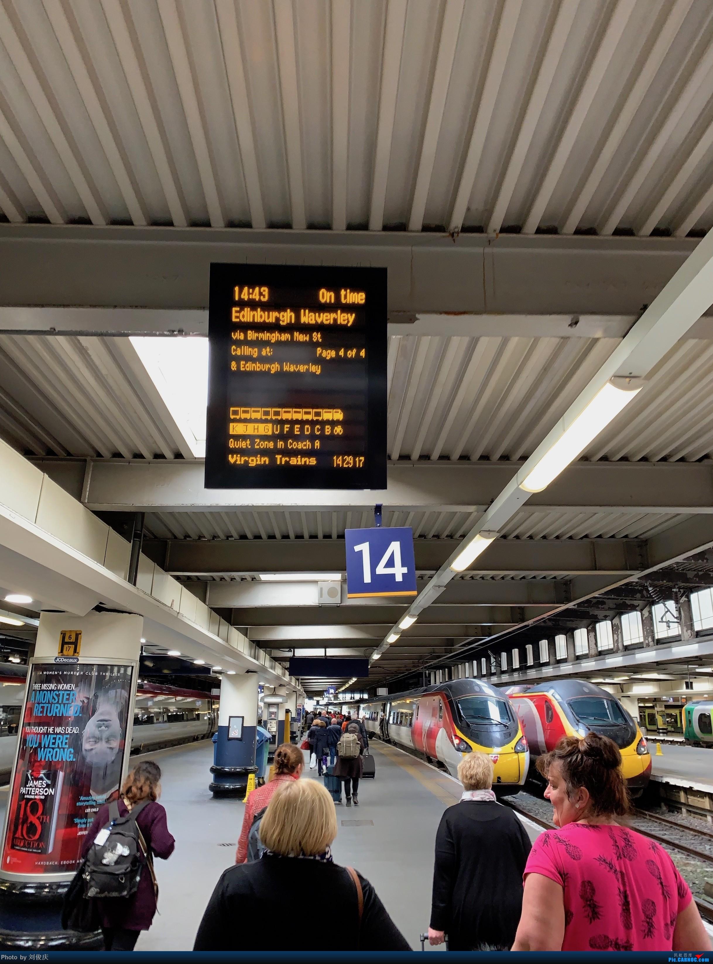 Re:[原创]SEA-JFK-LHR-CDG-FCO-CDG-LHR-ATL-SEA 8天3国5城暴走游记 [4月11日-更新至LHR] LONDON EUSTON  London Euston