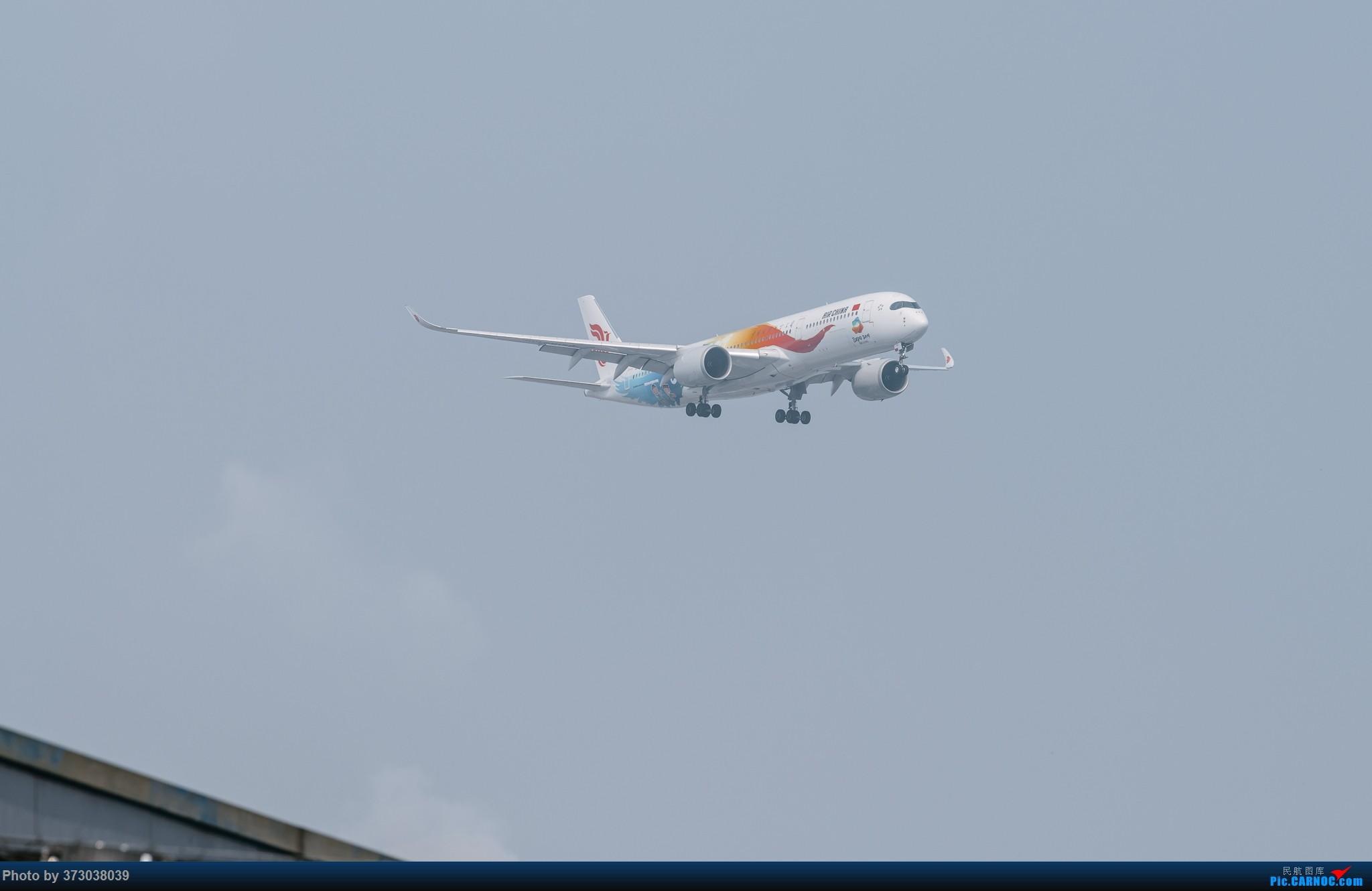 "Re:[原创]【杭州飞友会】国航A350""多彩世园号""彩绘落地 杭州萧山机场 AIRBUS A350-900 B-1083 中国杭州萧山国际机场"