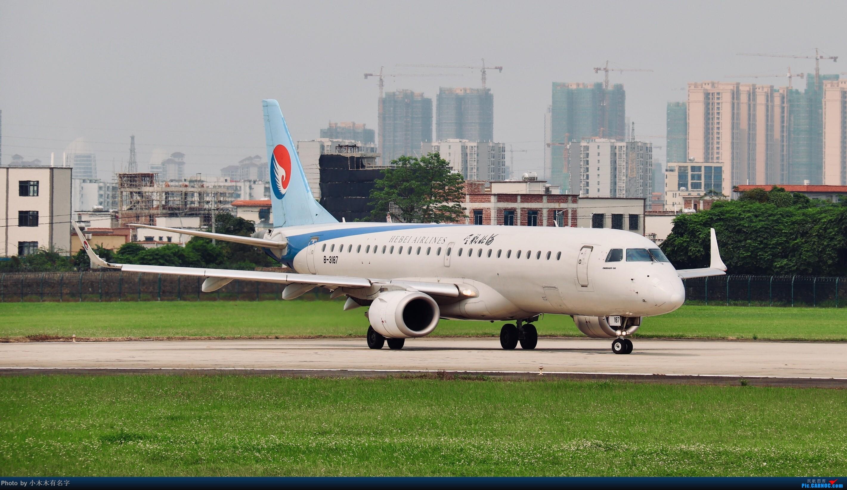 Re:[原创]2019年4月20日ZHA拍机 EMBRAER E-190 B-3187 中国湛江机场