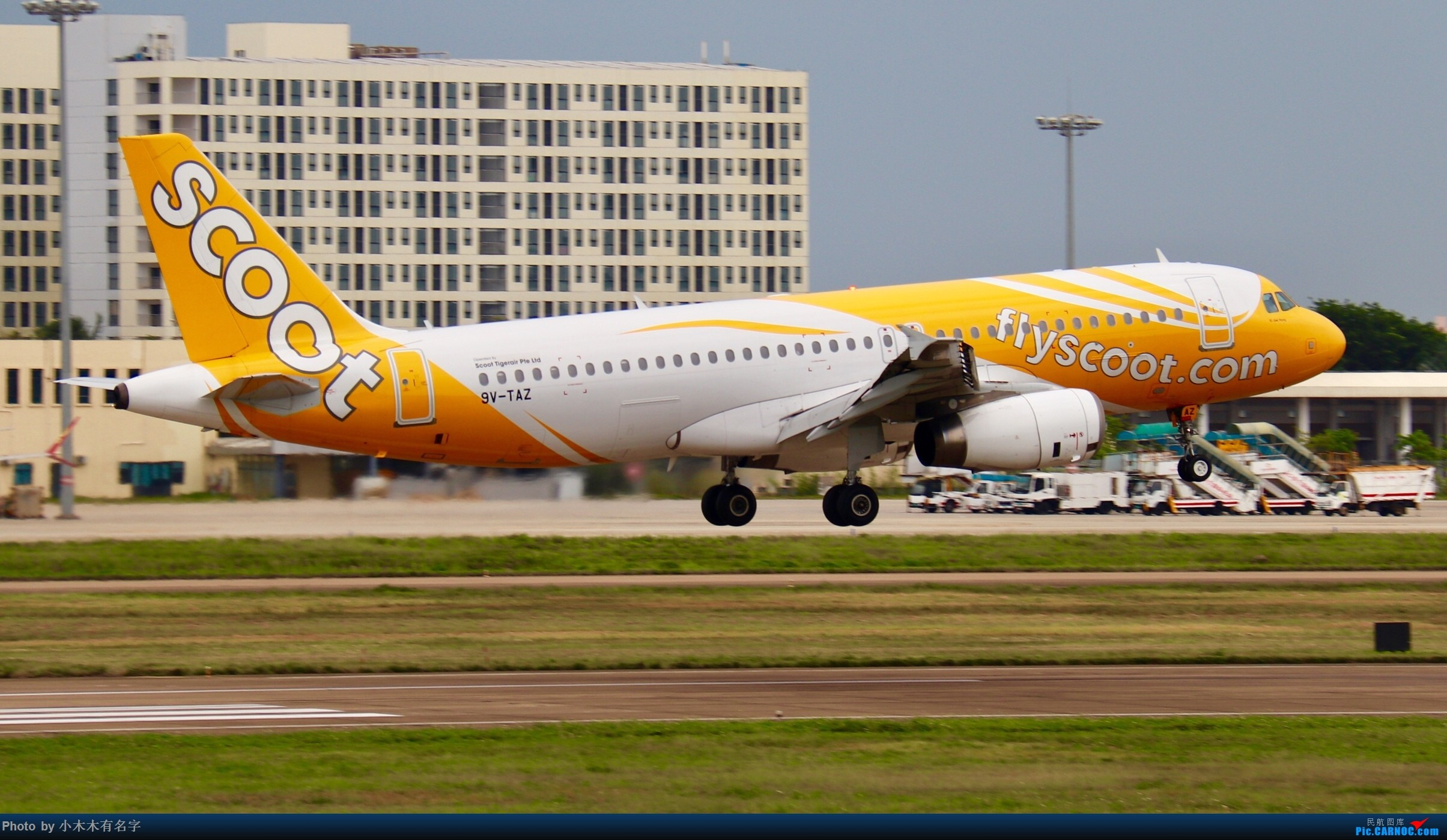 Re:[原创]4月的HAK AIRBUS A320 9V-TAZ 中国海口美兰国际机场
