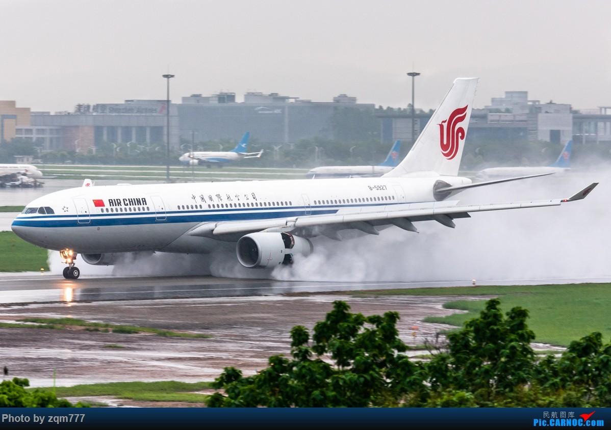 Re:[原创]【CAN】暴雨橙色预警中拍机 AIRBUS A330-200 B-5927 中国广州白云国际机场