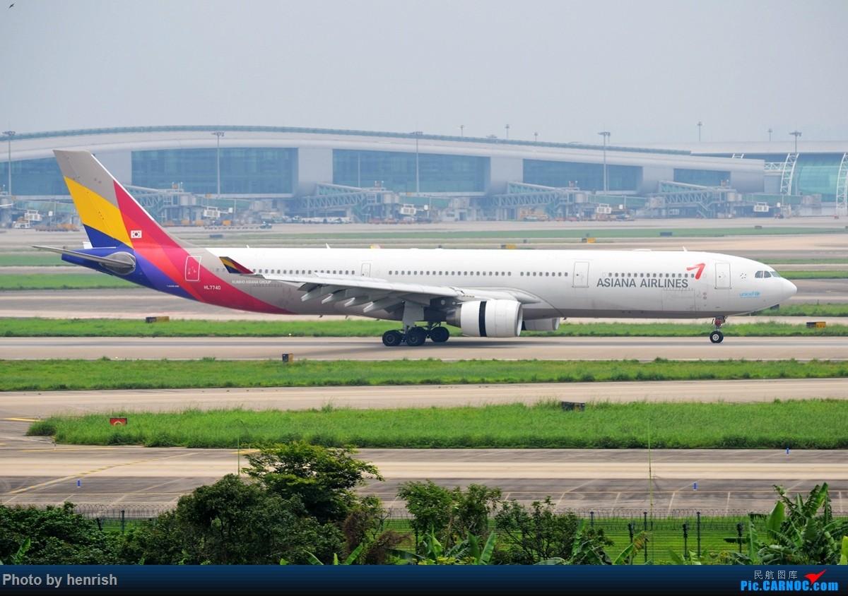 Re:[原创]【肥威的CAN】4月29日,烂天东跑拍机。【 广东青少年拍机小队】【广州,你好!】 AIRBUS A330-300 HL7740 中国广州白云国际机场