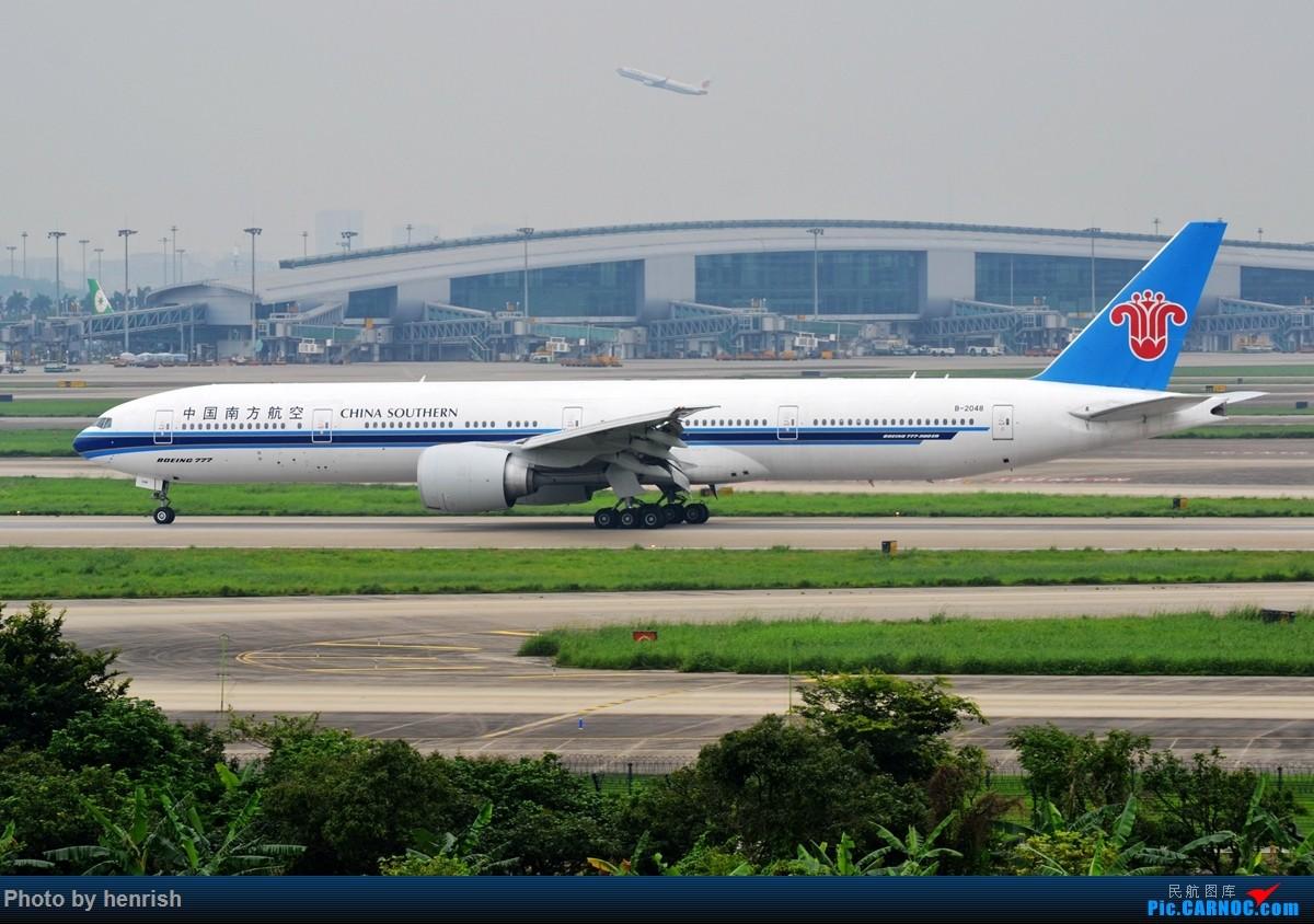 Re:[原创]【肥威的CAN】4月29日,烂天东跑拍机。【 广东青少年拍机小队】【广州,你好!】 BOEING 777-300ER B-2048 中国广州白云国际机场
