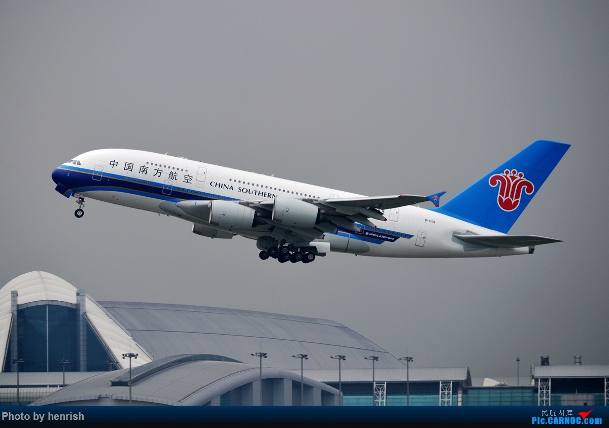 Re:[原创]【肥威的CAN】4月29日,烂天东跑拍机。【 广东青少年拍机小队】【广州,你好!】 AIRBUS A380 B-6136 中国广州白云国际机场