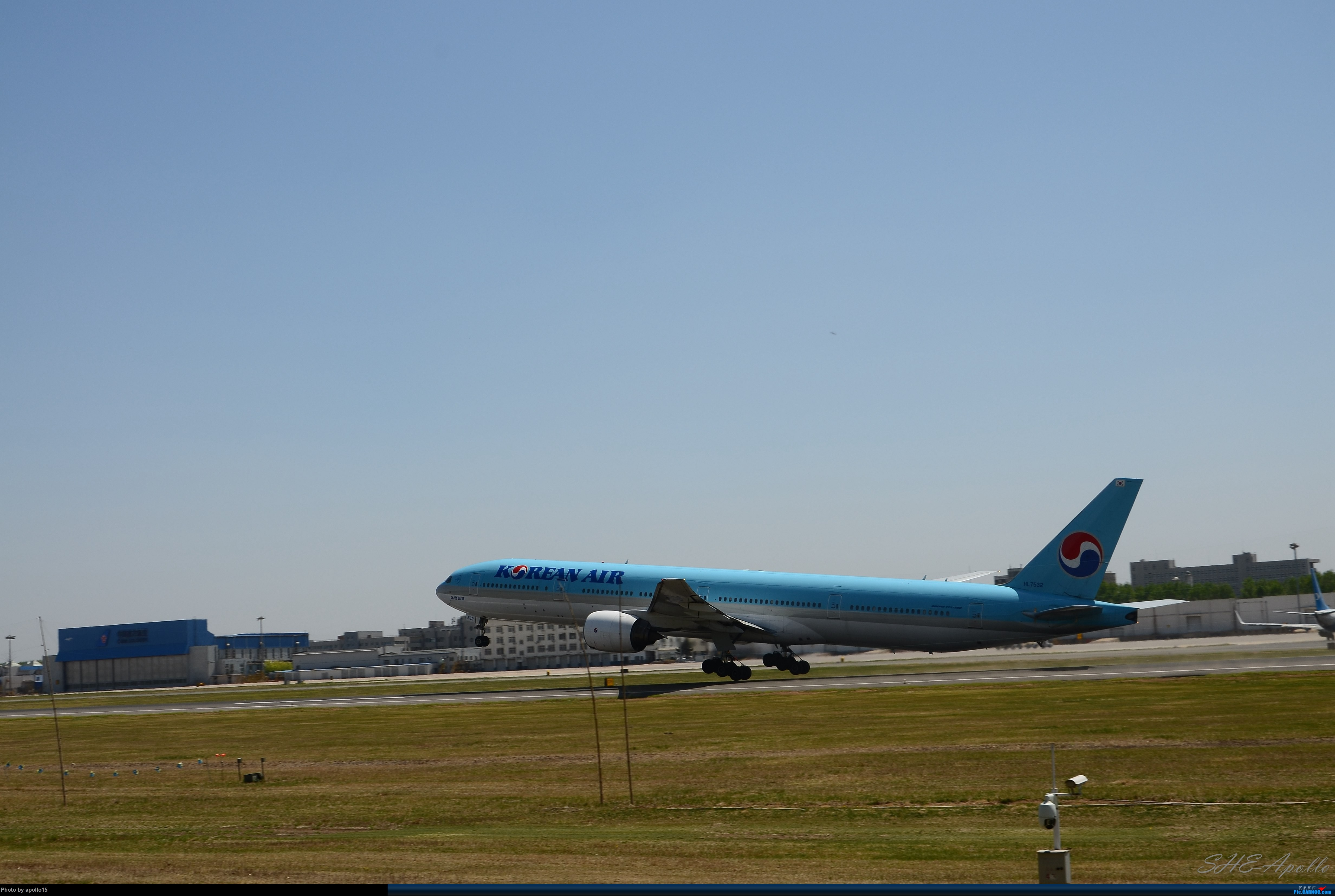Re:[原创]Re:[原创]【SHE】五一拍机机 BOEING 777-300 HL7532 中国沈阳桃仙国际机场