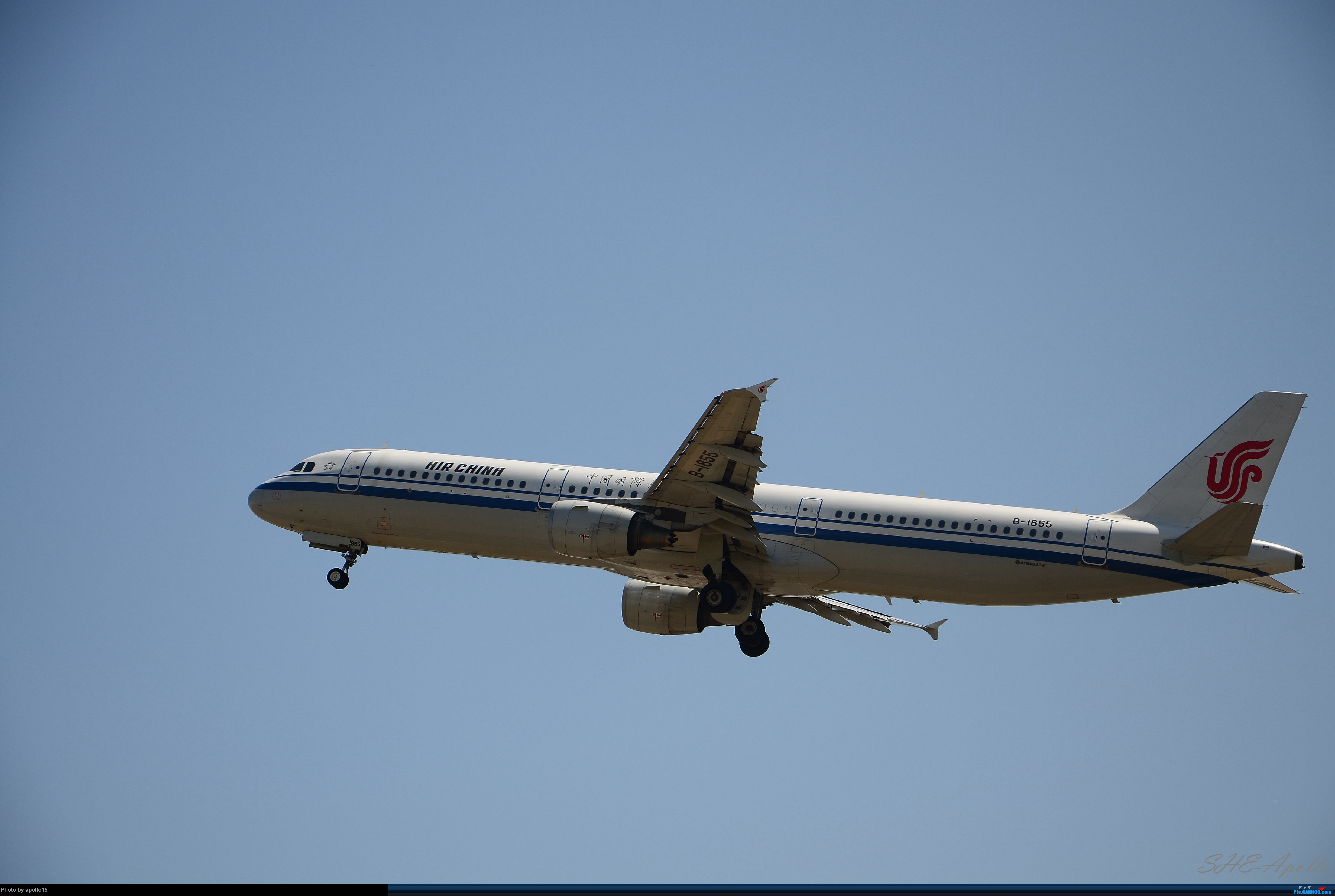 Re:[原创]Re:[原创]【SHE】五一拍机机 AIRBUS A321-200 B-1855 中国沈阳桃仙国际机场