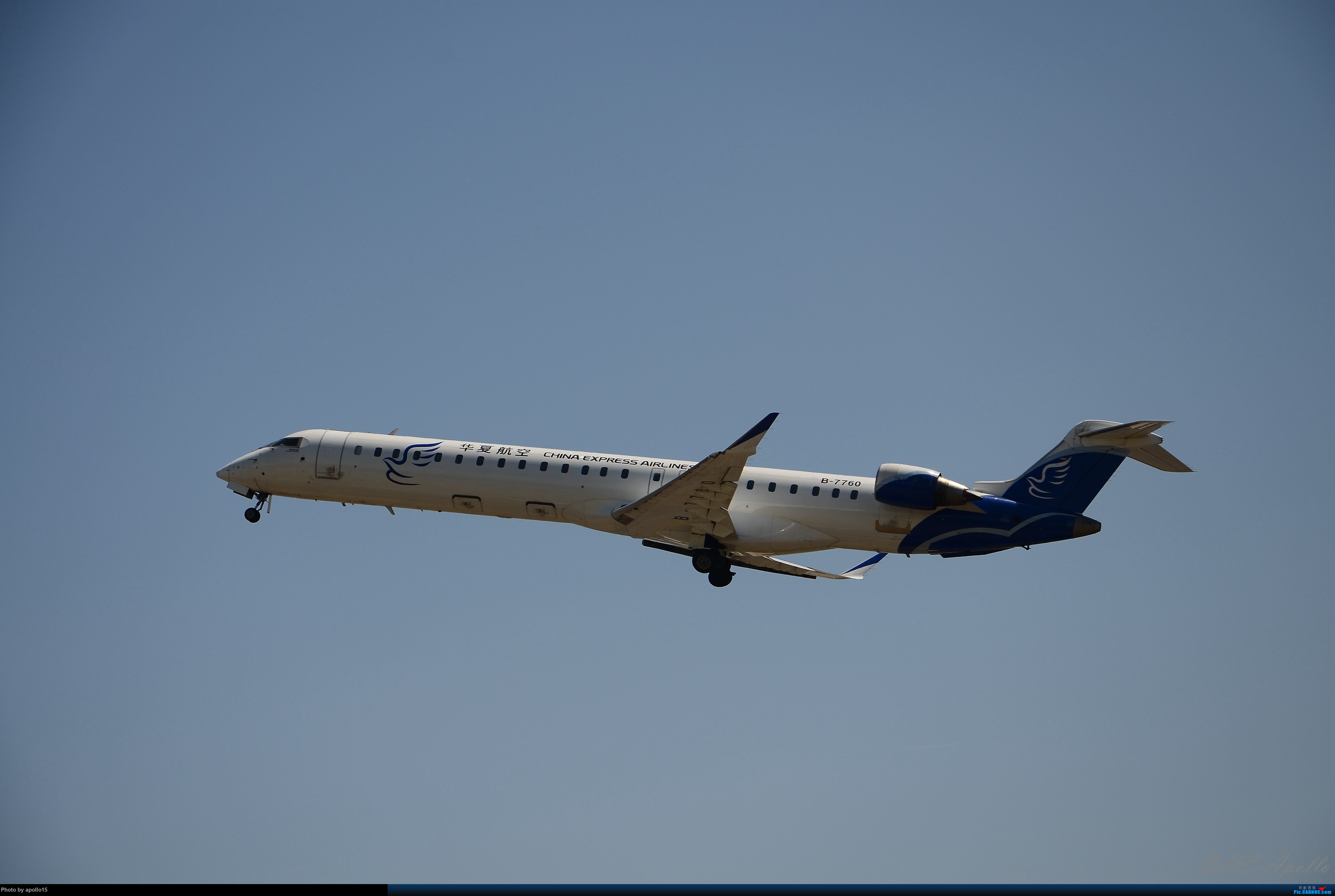 Re:[原创]Re:[原创]【SHE】五一拍机机 BOMBARDIER CRJ900NG B-7760 中国沈阳桃仙国际机场
