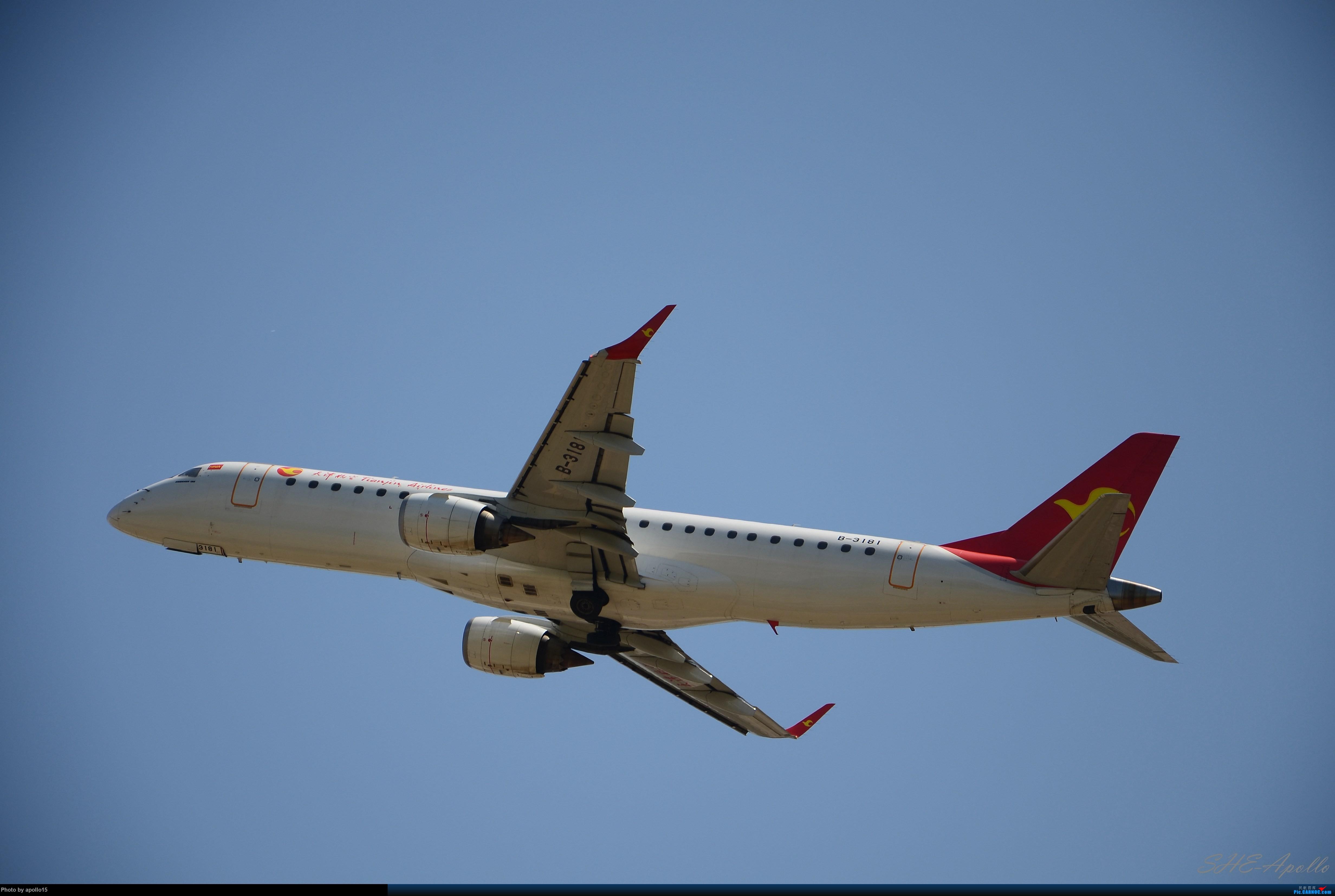 Re:[原创]Re:[原创]【SHE】五一拍机机 EMBRAER E-190 B-3181 中国沈阳桃仙国际机场