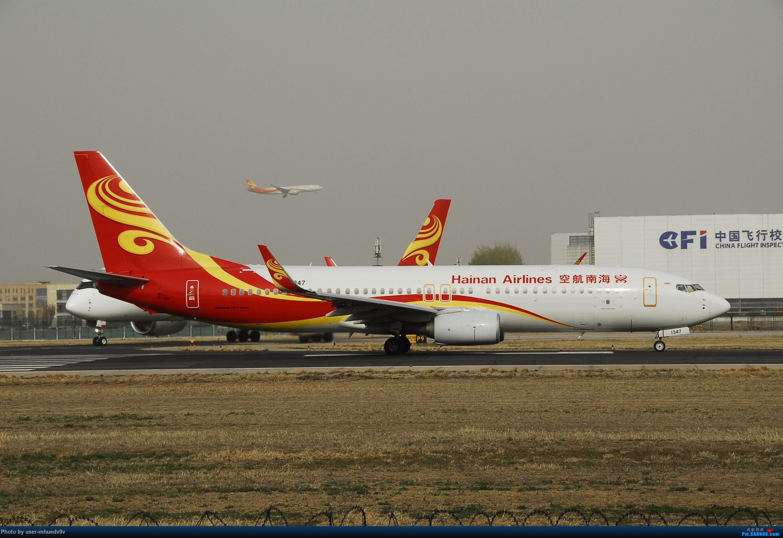 Re:[原创]50天中考!不修图了很难看凑活着吧! BOEING 737-800 B-1347 中国北京首都国际机场