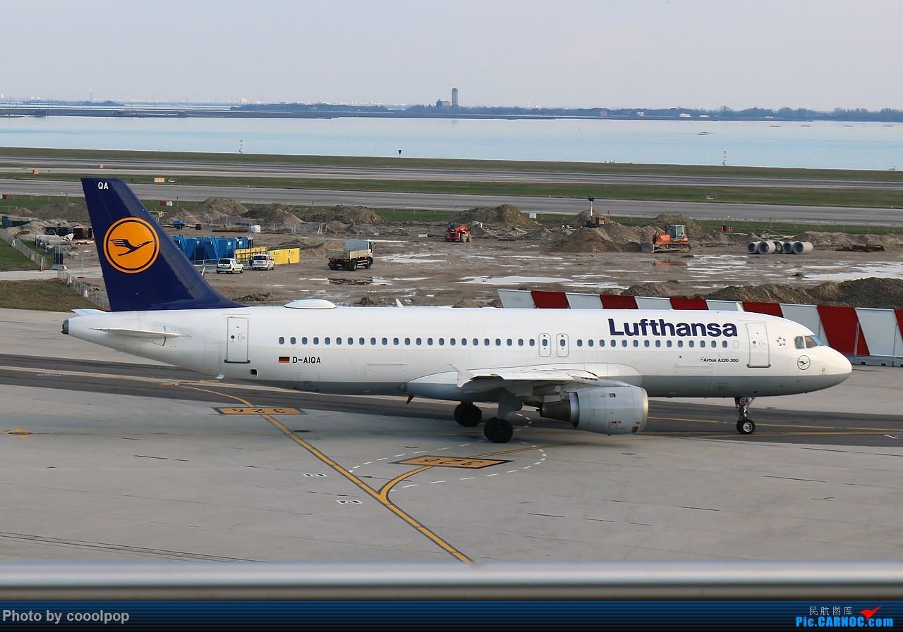 Re:[原创]好些年没来了!发了去年的游记帖子吧 PEK-CDG-VCE-DXB-PEK。法航 阿联酋航空混飞 A320-211 D-AIQA 意大利威尼斯机场