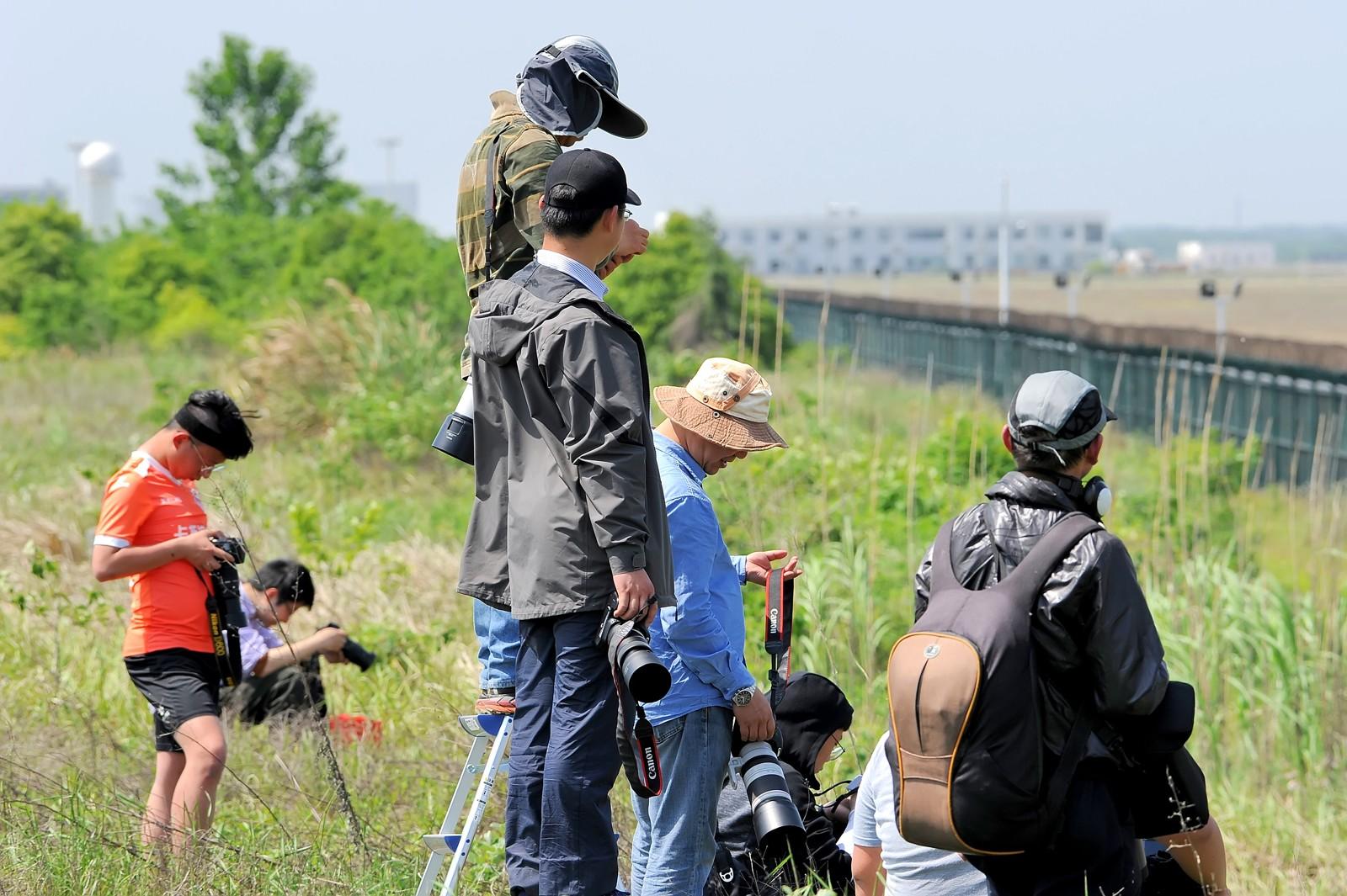 Re:[原创]【多图党】五一假期南京拐爷大佬们在新桥佛系拍机     飞友
