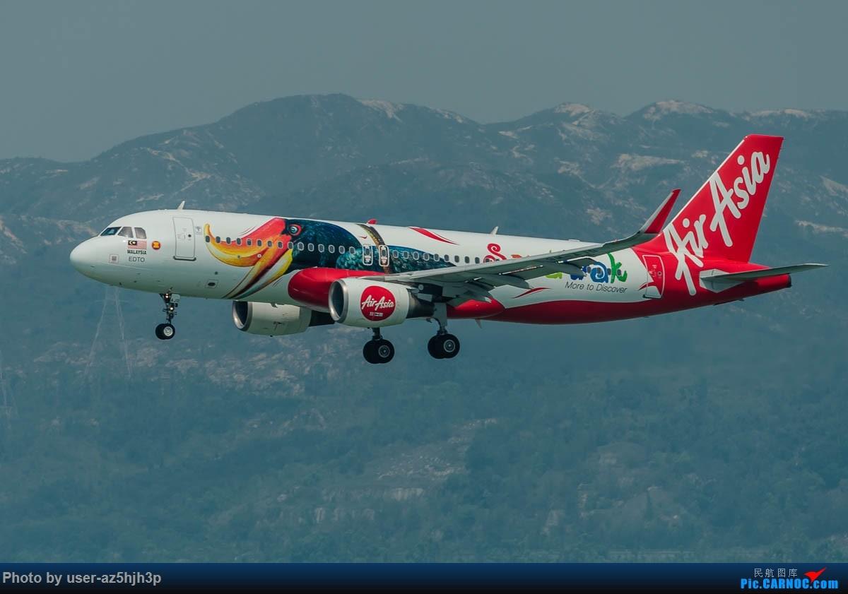 [原创]2号客运大厅观景台拍机 AIRBUS A320 9M-AJD 香港国际机场