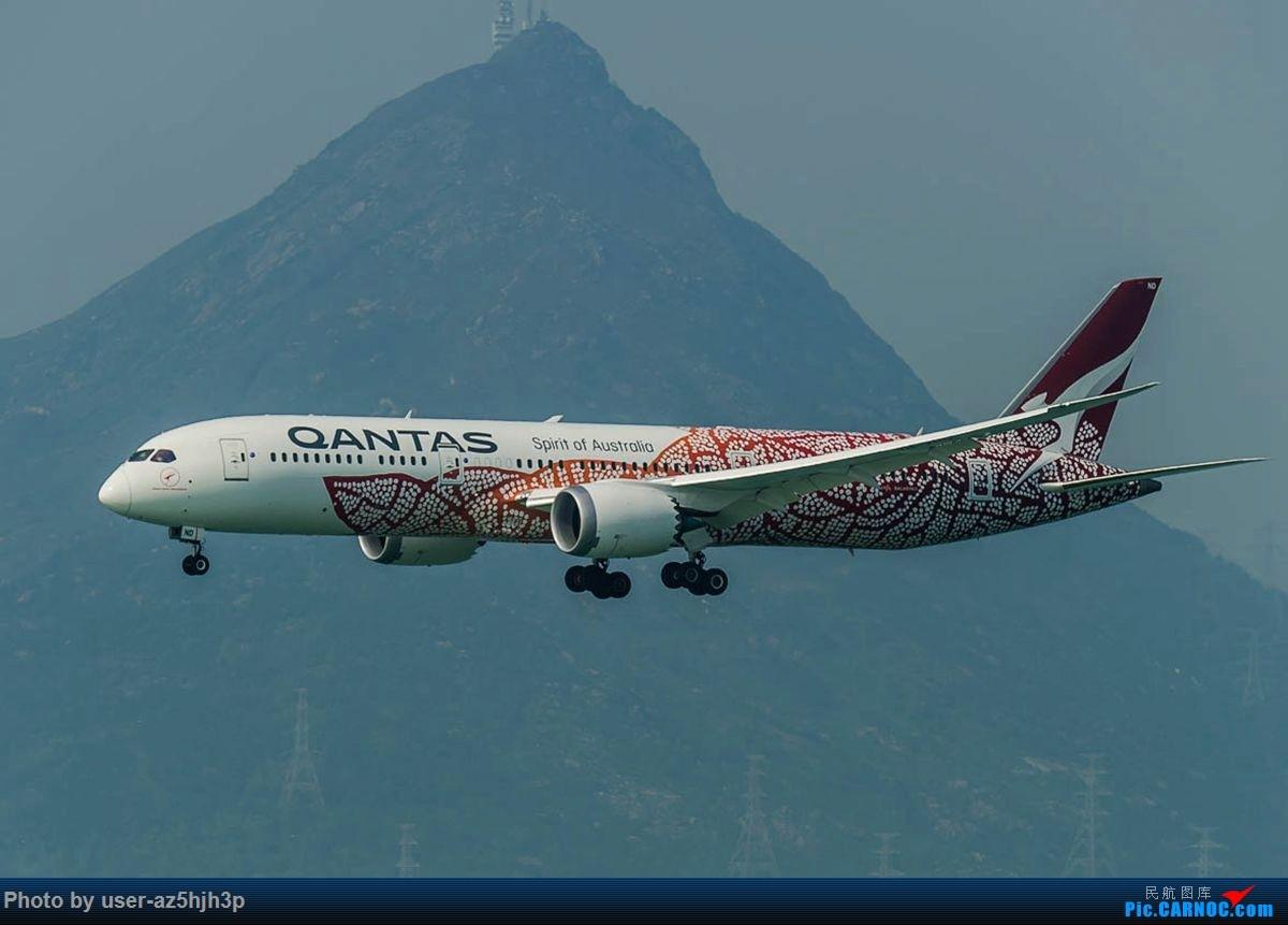 Re:[原创]2号客运大厅观景台拍机 BOEING 787-9 VH-ZND 香港国际机场