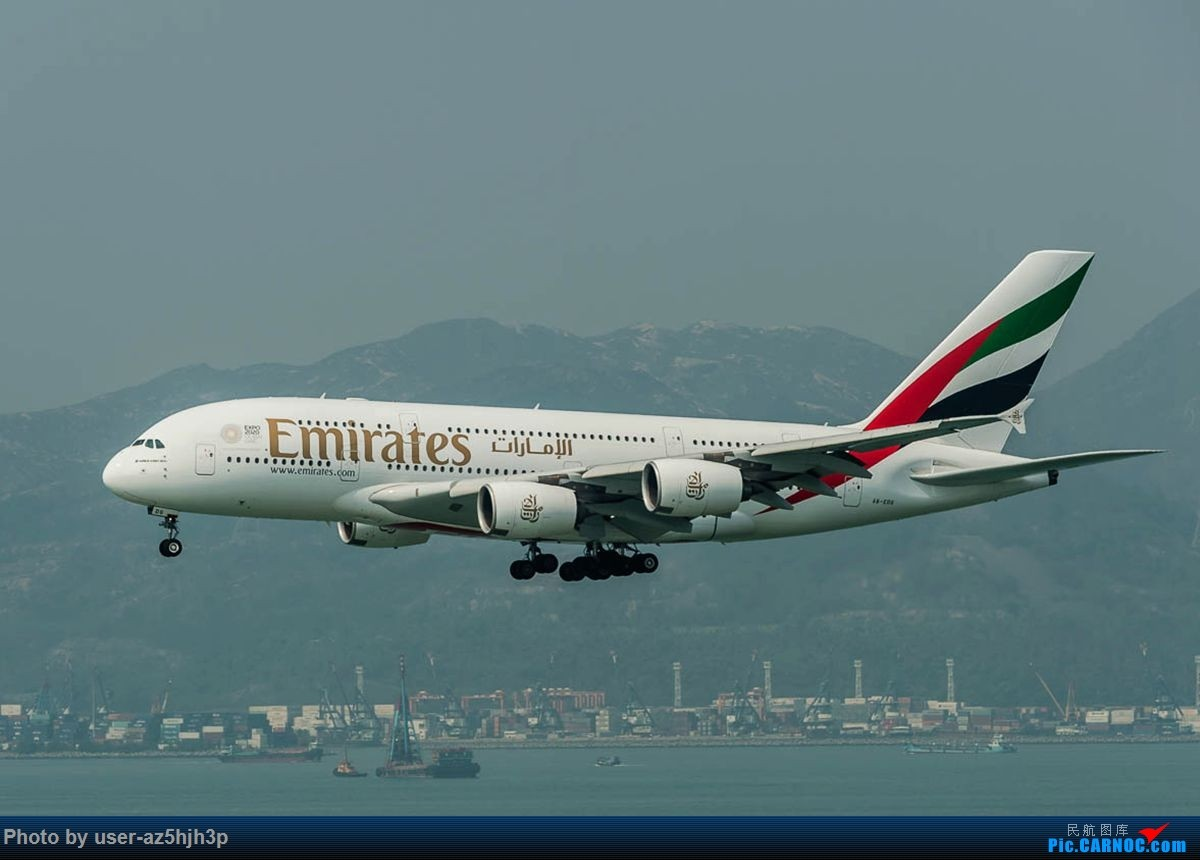 Re:[原创]2号客运大厅观景台拍机 AIRBUS A380 A6-EDG 香港国际机场