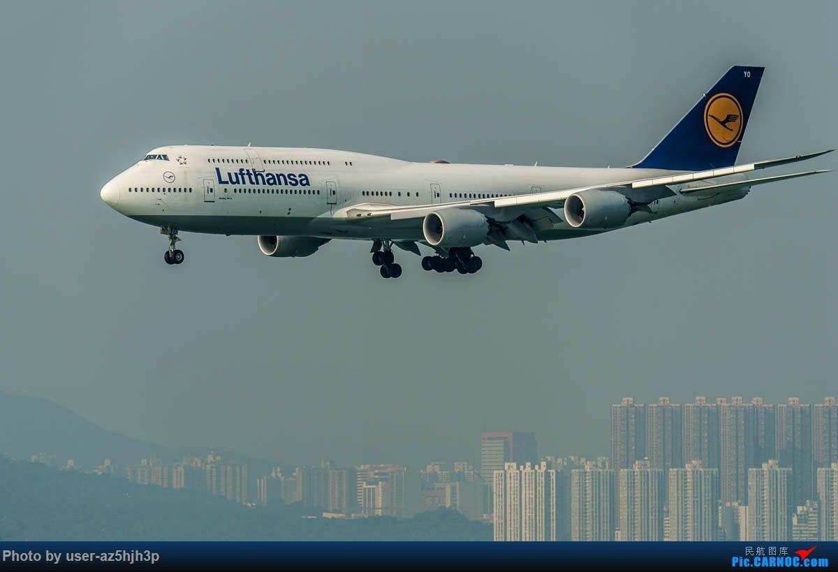 Re:[原创]2号客运大厅观景台拍机 BOEING 747-8 D-ABYO 香港国际机场