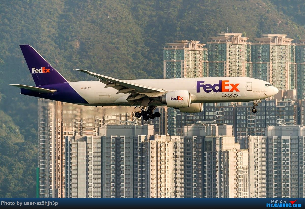 Re:[原创]2号客运大厅观景台拍机 BOEING 777F N-861FD 香港国际机场